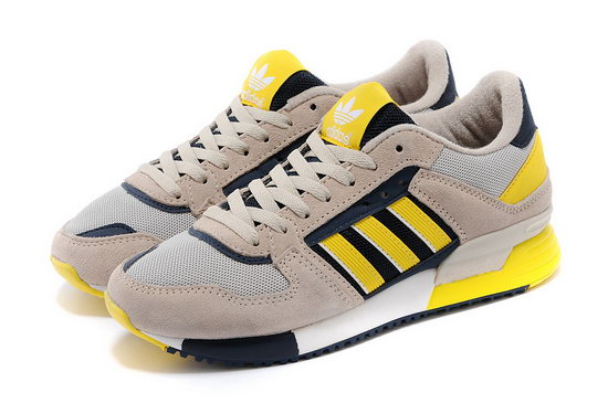 Womens Adidas Zx 630 Grey Yellow Reduced